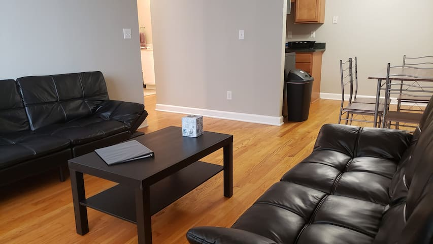 Private Suite. Uptown. Off Street Parking Included