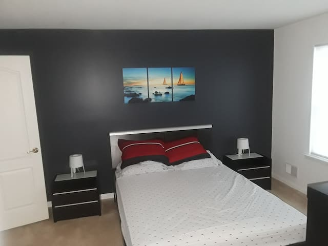 Nice bedroom in a New house!