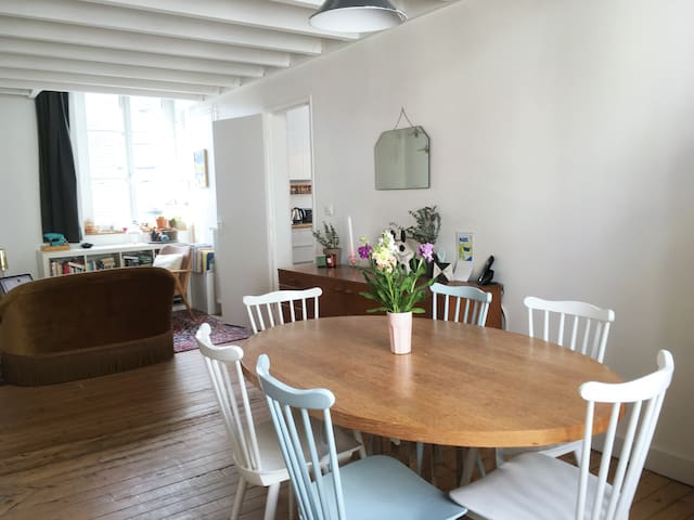 Charming duplex in the heart of Nantes
