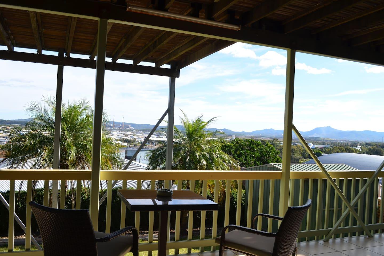 Splendid views from Auckland Hill
