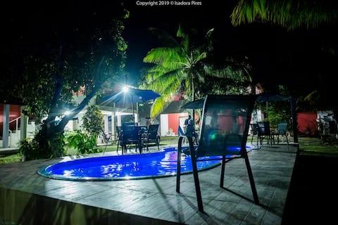 Casa com piscina Ilha de Itaparica 5/4 Condomínio