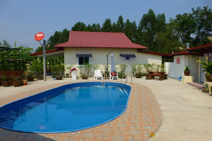 Private pool Villa with lots of room to move over 90 square meters.