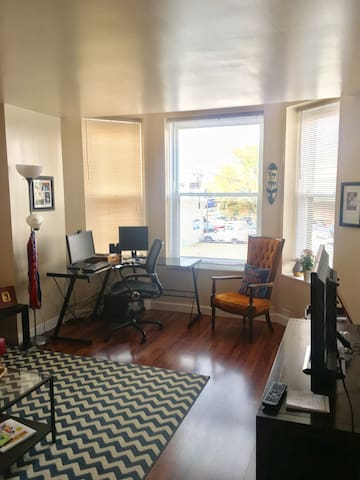 Cozy apartment in downtown Springfield