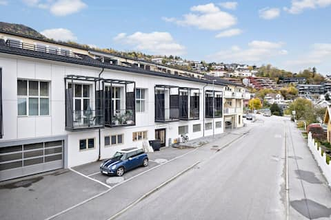 Modern apartment in downtown Sogndal