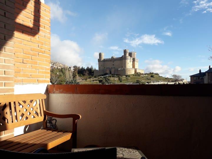El castillo y la Pedriza