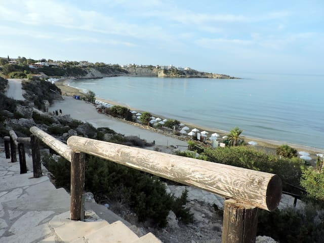 Zambas Coral Bay apartment with private pool - Peyia - Haus