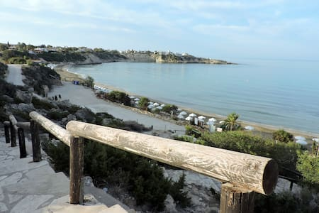 Zambas Coral Bay apartment with private pool - Peyia