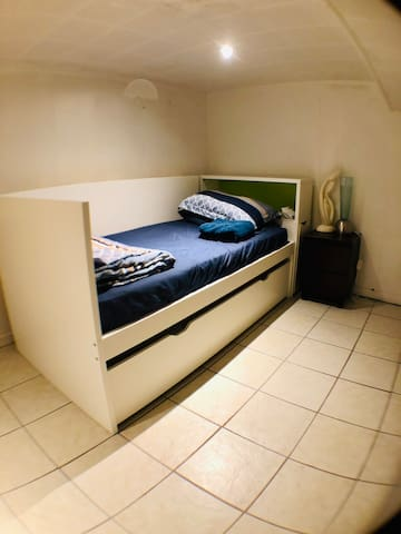 Private Bedroom in the Basement