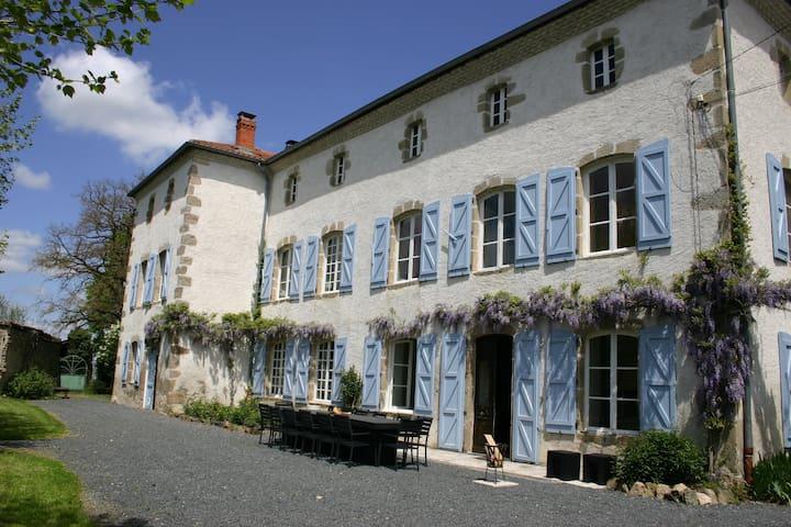Chambre d'Amour - ruime privékamer, zwembad