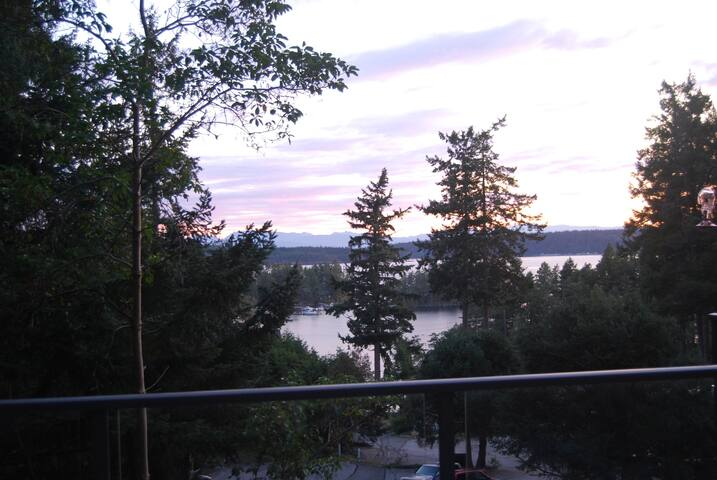 Private Secret Cove Retreat with view.