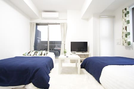 Great Location!!Next to OCAT Namba Sta+WIFI 2-5ppl - Naniwa-ku, Ōsaka-shi