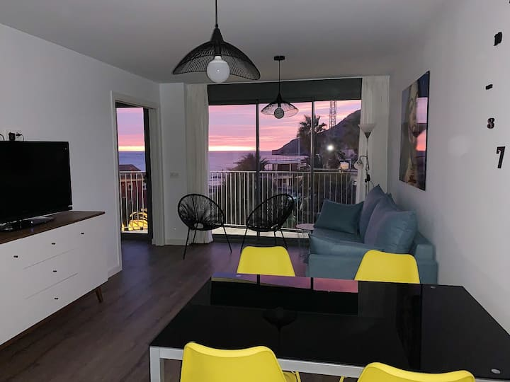 Apartments 100 m away from the beach with parking
