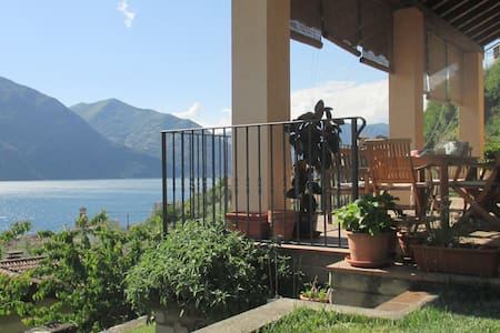 Casa panoramica on Iseo Lake - Marone - Huis