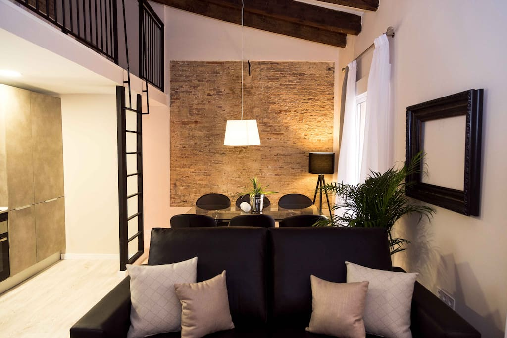Músico Peydró Apartments (8) Salón 1
