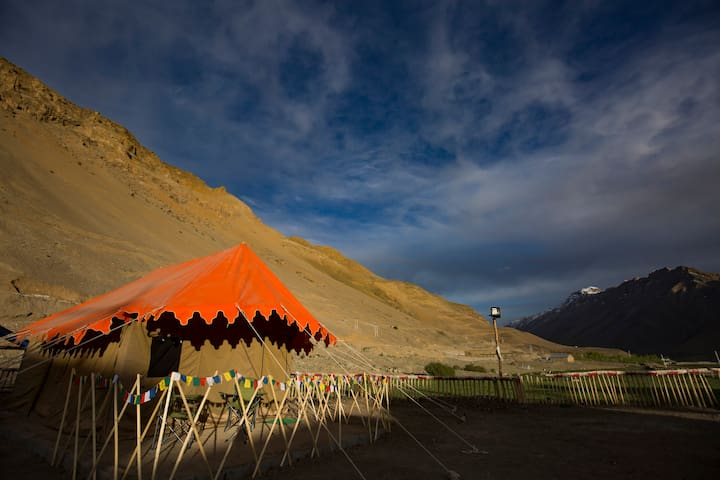 Hostel in Kaza, Spiti Valley - Alpine Tents - Kaza - Tent