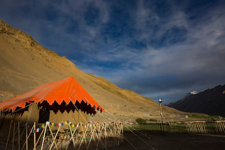 Hostel in Kaza, Spiti Valley - Alpine Tents - Tent