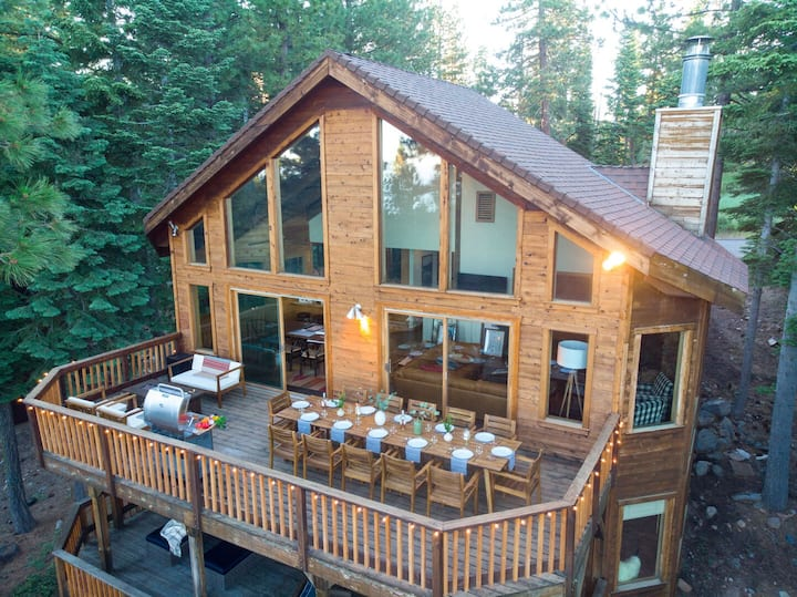 Wildwood by AvantStay | Seclusion In The Woods w/ 3 Decks! 15mins from NrthStar!