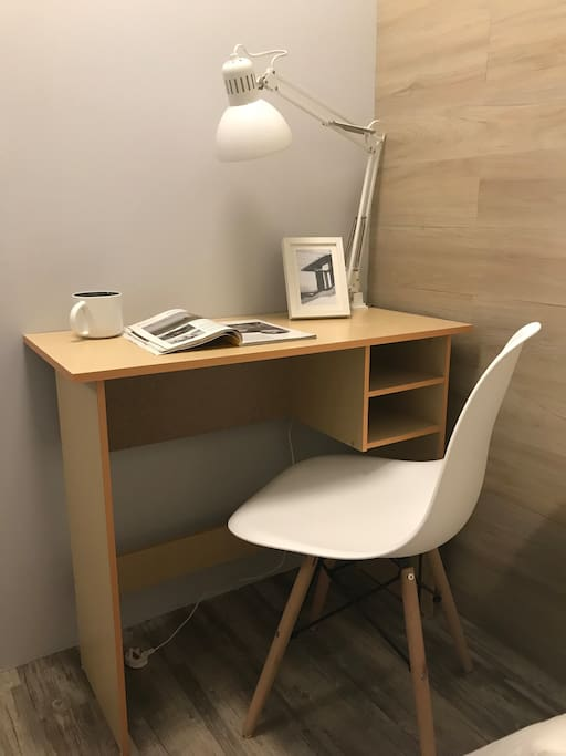 Study Desk In The Room