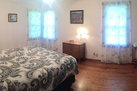 Queen Room - BA Bed & Breakfast - Broken Arrow - Szoba reggelivel