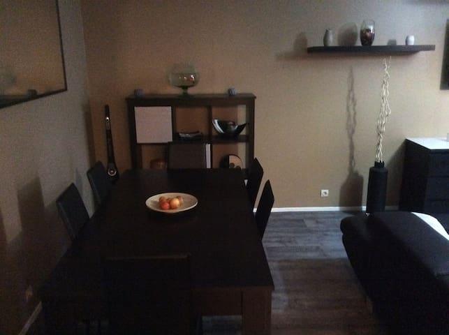 Appartement cozi plus terrasse - Bezons - Apartemen