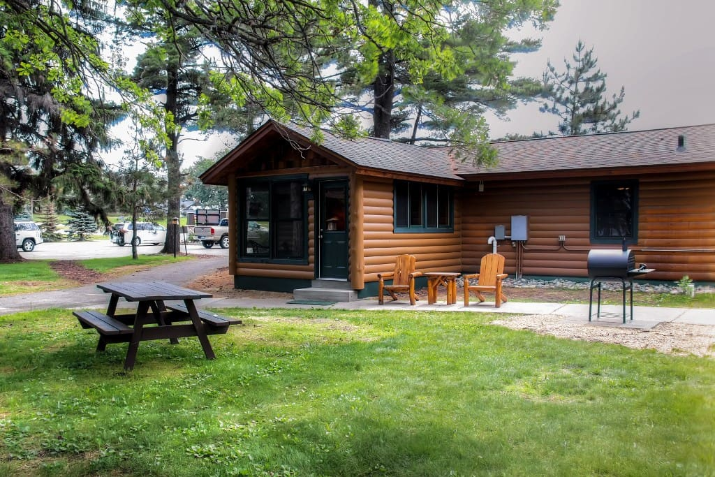 Remodeled 2br nisswa log cabin cabins for rent in nisswa for Cabins for rent in minnesota