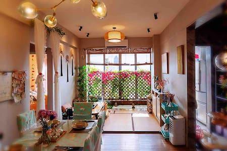 火车东站素怡民宿-日式榻榻米禅意庭院度假电梯2房2厅公寓/可免费提供男.女和服拍摄影