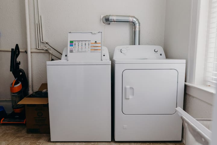 On-site laundry for those extended stays!