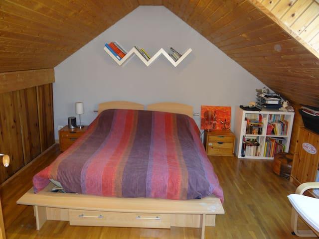 Dole : chambre dans maison au calme