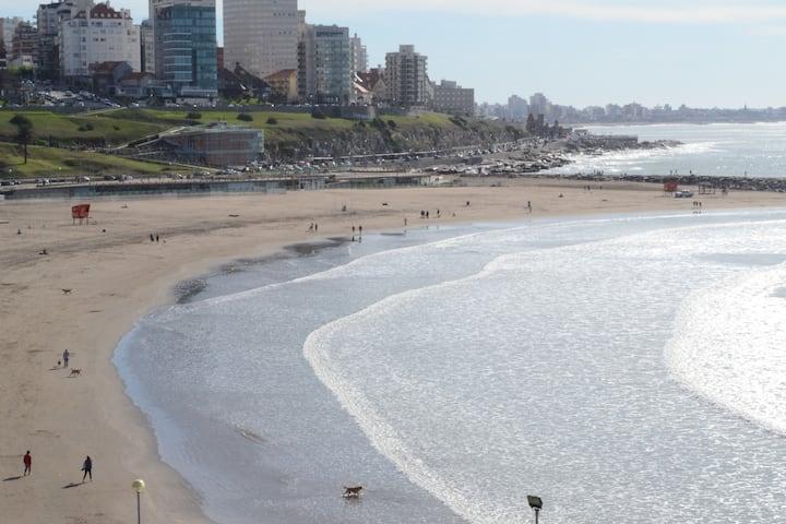 Mar del Plata departamento con seguridad para 4