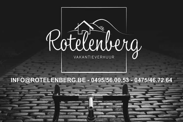 Vlaamse Ardennen.  Ruime woning aan de Koppenberg.