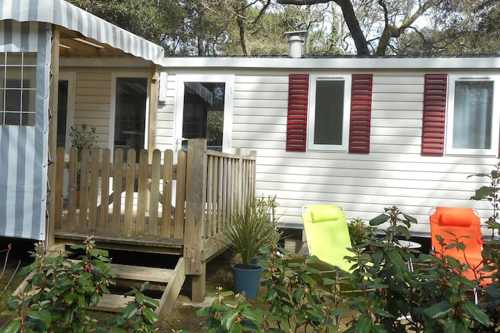 MOBIL HOME 3 CHAMB 6/8 PERS CAMPING SIBLU 4*
