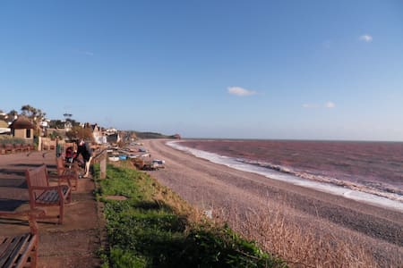 Seaside apartment in centre of town close to beach - Budleigh Salterton