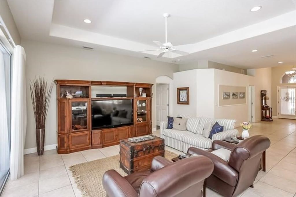 "Living Room - 60"" TV"