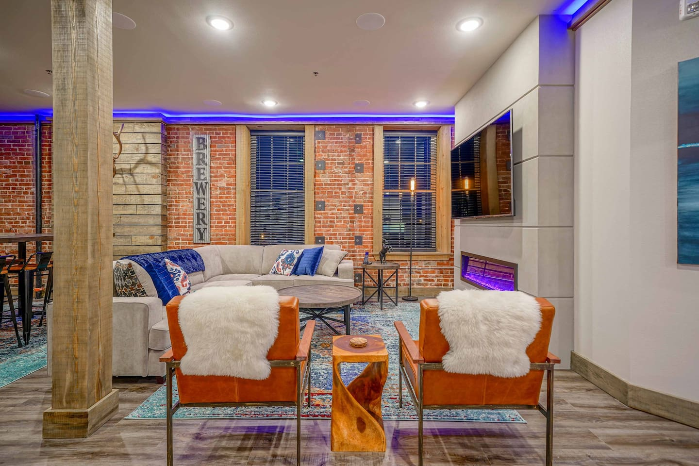 Make this fun modern vacation rental the base for your Hot Springs explorations!
