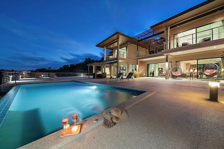 Ban Nai Fan: 3 Bed Villa w/ Magnificent Sea View