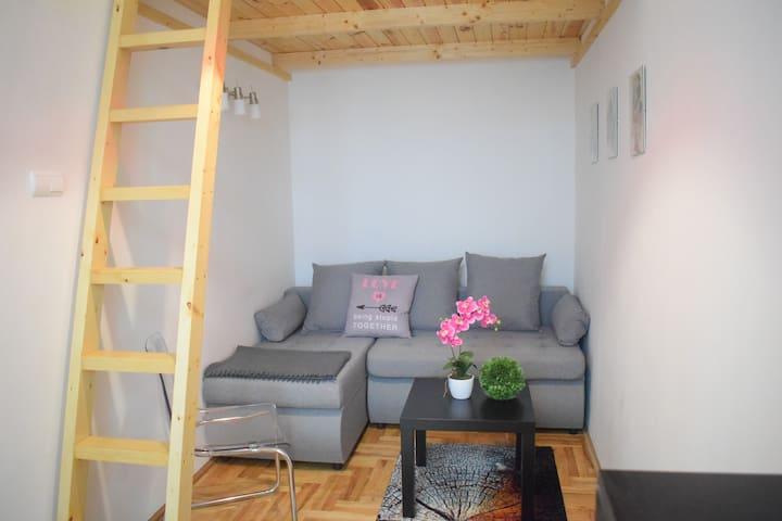 Erkel3 Studio in the city centre