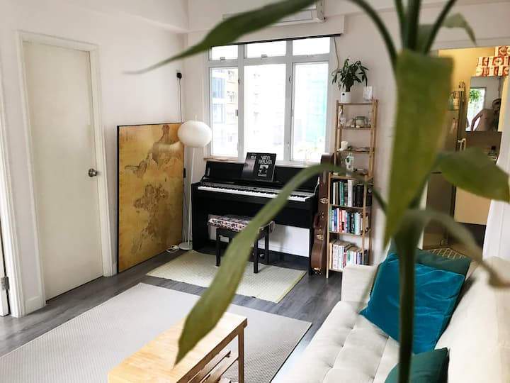 📍Entire Apartment - Quiet Light & Spacious in SYP