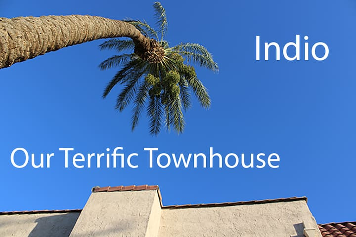 Terrific Townhouse in Indian Palm CC