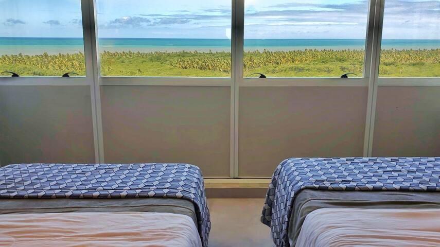 Studio com vista para o Mar- Bugan Paiva by Blue Tree Hotels de frente para a ilha do amor - 1208
