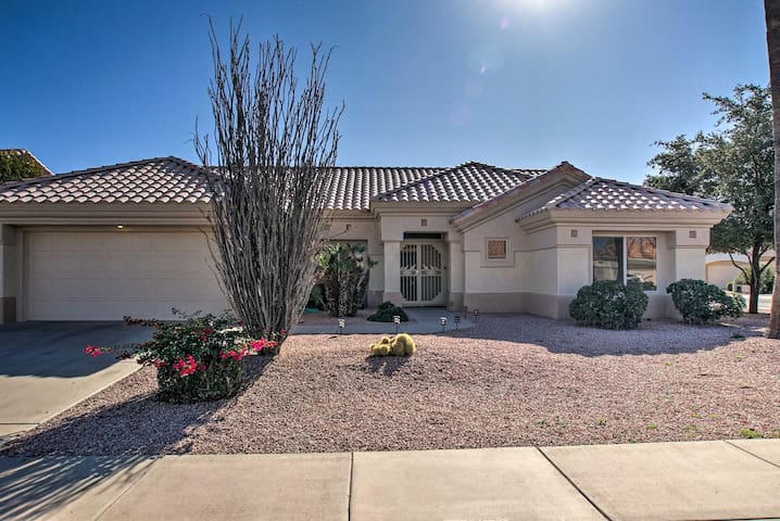 NEW! Sun City Abode w/ Patio: Perfect for Couples!
