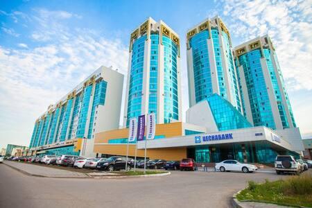 Лазурный квартал (Azure Quarter) - Astana - Apartemen