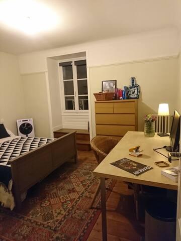 Chambre privé dans le centre de Cognac