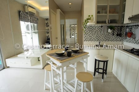 2BR Bright & Sunny, 50m2 apartment in Thamrin City - Tanah Abang