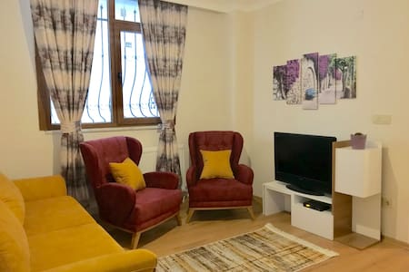 Cozy and private flat / Rahat ve özel daire + WIFI