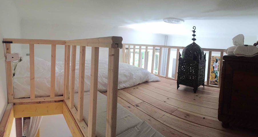 Appartement atypique bois mezzanine Disney/Paris