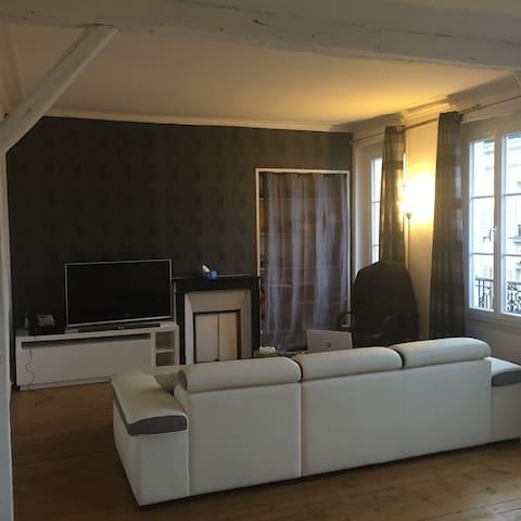 Unappart au centre  style parisien - Maisons-Laffitte - Appartement