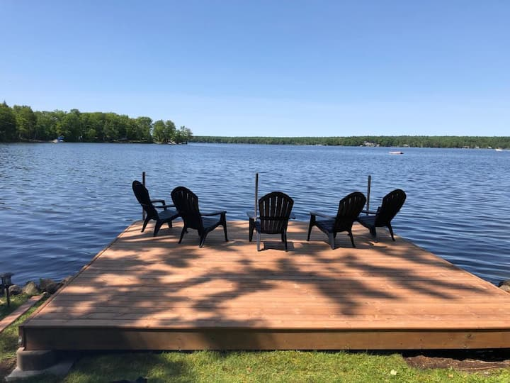 Year-round Beautiful Buckhorn Waterfront (sauna)