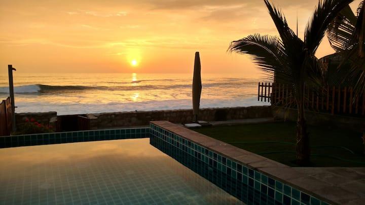 Spectacular Beach Front House