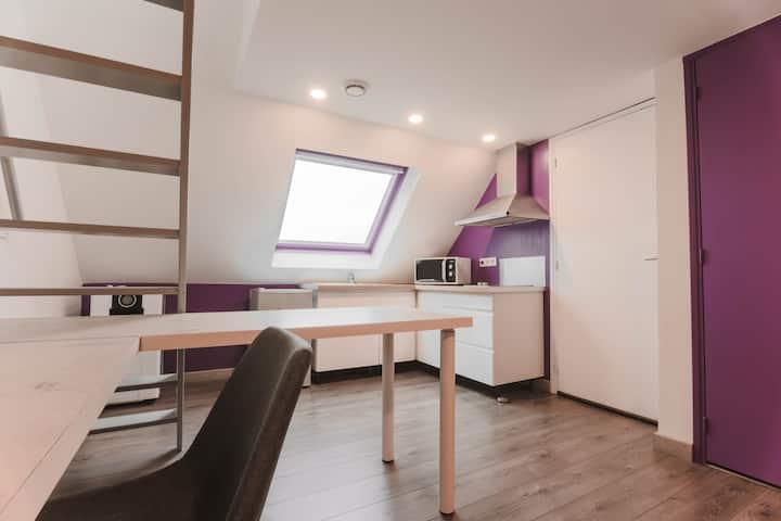 Studio idéalement situé en Normandie
