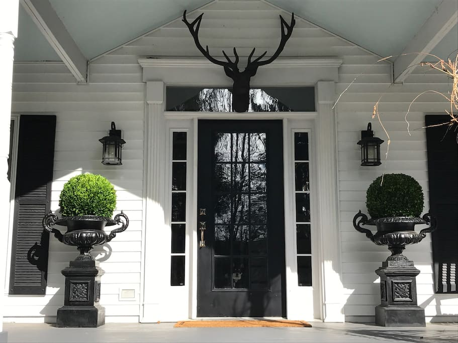 Front Entry.